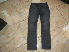 H1422 Levis 571 Slim Fit Jeans W29 Anthrazit ohne Muster