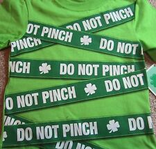 Brand NEW Green Shamrock Do Not Pinch St. Saint Patrick's Day Tee Size 2T NWT