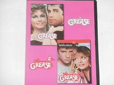 Grease 1 & 2 - (John Travolta, Olivia Newton-John) 2xDVD