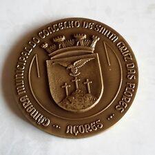 12.6.18EOCJ# Bronze medal Igreja Santa Cruz Flores AZORES