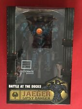 "NECA Pacific Rim Battle at the Docks Jaeger Gipsy Danger Action Figure 7.5"" NIB"