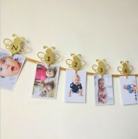 First Birthday Photo Banner, First Birthday Banner, Photo Banner, One Year Photo