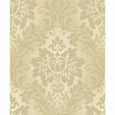 New Fabric Damaks Gold A10904 Feature Glitter Wallpaper