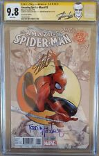 AMAZING SPIDERMAN 15 CGC SS 2X