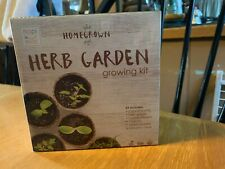 Herb Garden Growing Kit with 5 types of Seeds & Other Tools