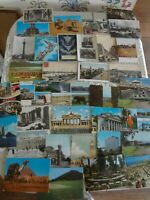 Vintage International postcard lot 36 Samoa Israel Egypt Europe mixed