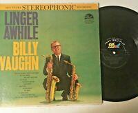 Billy Vaughn Linger Awhile 1960 Jazz Music Big Band Vinyl Record LP