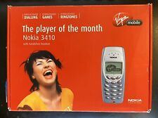 NOKIA 3410 Mobile Phone On Virgin Mobile Original Boxed with Xtras