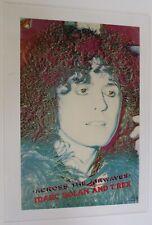 More details for marc bolan t- rex poster vintage original dakota promo across the airwaves 1982