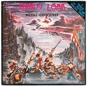 "HEAVY LOAD - Metal Conquest - 1981 Scandinavia 12"" single / Maxi 45"