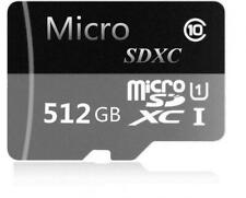 512GB MicroSDXC Class 10 Micro SD Memory Card w/ SD adapter