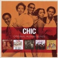 CHIC - ORIGINAL ALBUM SERIES 5 CD DICSO/DANCE NEW