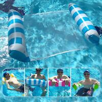 Inflatable Water Hammock Bed, Aqua Lounger, Floating Leisure Hammock Chair fo...