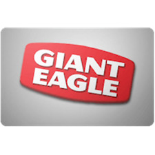 Giant Eagle Gift Card $25 Value, Only $24.70! Free Shipping!