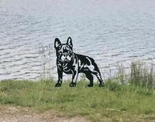 More details for french bulldog metal garden art