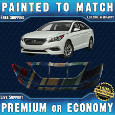 NEW Painted To Match Front Bumper Replacement for 2015-2017 Hyundai Sonata 15-17