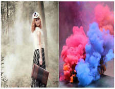 6Colors Smoke Cake Smoke Effect Show Round Bomb Photography Aid Toy Divine Gift