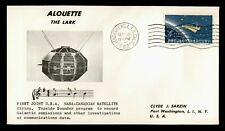 DR WHO 1962 ALOUETTE JOINT USA CANADA SPACE SATELLITE VANDENBERG C185100