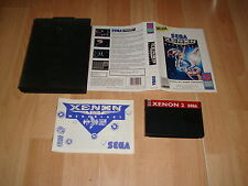 XENON 2 MEGABLAST BY BITMAP BROTHERS FOR SEGA MASTER SYSTEM PAL USED COMPLETE
