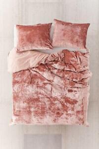 Ultra Luxe Crushed Velvet Duvet Cover Bohemian Bedding Stylish Comforter Cover