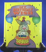 PERSONALIZED CHILDREN'S BOOK MY BIRTHDAY WISH