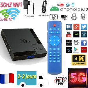 New X96MATE(H616) Android10.0 TV BOX Boîtier Numérique Intelligent 4+64G/4+32G