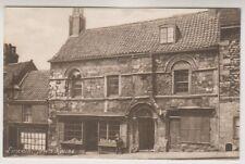 Lincolnshire postcard - Lincoln, Jews House (A282)