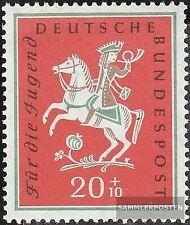 BRD 287 gestempelt 1958 Jugend: Volkslieder