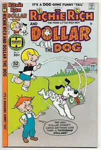 Richie Rich and Dollar the Dog #3 (Harvey, 1978) – 52 Pages – Little Dot – VF