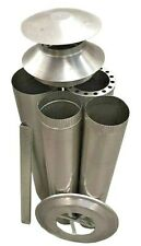 "Pizza Oven Flue Kit - 150mm (6"") Full Kit Stainless ABPOFK15S"