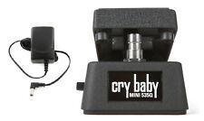 Jim Dunlop Cry Baby Mini 535Q Wah Pedal CBM535Q Half Size (ADAPTER POWER SUPPLY)