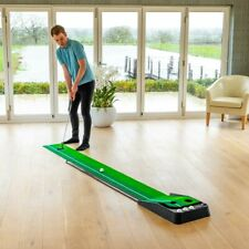 FORB Dual Speed Golf Putting Mat - Portable Training Mat For Perfect Putting