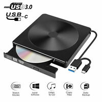 Type C External DVD Drive For Laptop PC Desktop Linux OS Apple Mac Macbook Pro