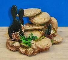 White Stone Rock Cluster Aquarium Ornament Fish Tank Bowl Decoration Classic New