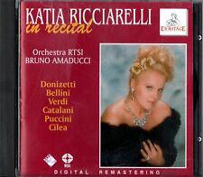 RICCIARELLI KATIA IN RECITAL DONIZETTI BELLINI VERDI PUCCINI CILEA CD 1995