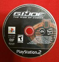 G.I. Joe: The Rise of Cobra (Sony PlayStation 2) PS2 Game Disc Only GI Joe