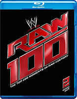 WWE - The Top 100 Moments In RAW History (Blu-ray, 2013, 2-Disc Set) NEW SEALED