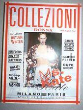 Magazine mode fashion COLLEZIONI DONNA #52 pret à porter autumn winter