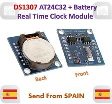 DS1307 AT24C32 I2C RTC Real Time Clock Module for  AVR ARM PIC with Battery