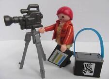 Playmobil Bosque/Safari/vida salvaje señora fotógrafo/Ranger figura y Cámara Nueva