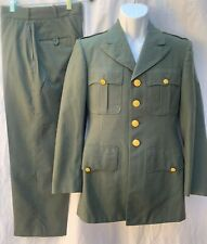 Vietnam Uniform 1967 US Army Class A Dress Greens Coat Trousers AG 344 Tropical