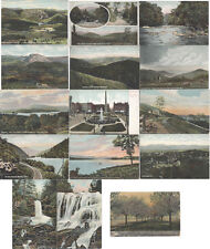 NORTH CAROLINA VINTAGE POSTCARDS SET OF FIFTEEN OF VARIOUS LOCATIONS IN