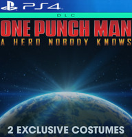 One Punch Man: A Hero Nobody Knows PS4 DLC / 2 Exclusive Costumes / EUROPE