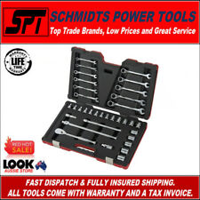 """GEARWRENCH 83062 METRIC 1/2"""" SOCKET AND RATCHETING SPANNER SET 34 PIECE TOOL SET"""