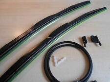"Hybrid Wiper Blades 22"" x22""+Washer Jets MERCEDES DAF IVECO FORD SCANIA"