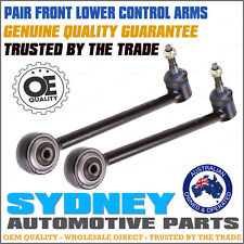 PAIR NEW Holden VE Commodore (2006-on) FRONT LOWER STRAIGHT Control Arms LH+RH