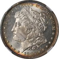 1880-P Morgan Silver Dollar NGC MS65 Superb Eye Appeal Strong Strike