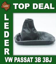 Gear Shift Stick Boot Cover Gaiter Genuine Leather For VW Passat 3B 3BG Bj 97 05