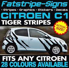 CITROEN C1 GRAPHICS TIGER STRIPES CAR VINYL DECALS STICKERS VTR VTS 1.2 1.4 1.6
