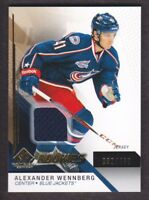 2014-15 SP Game Used Gold Jersey #111 Alexander Wennberg /499 Blue Jackets